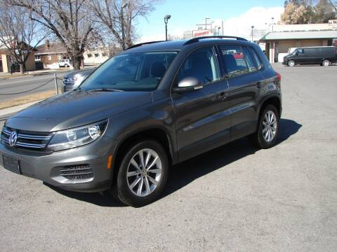 2017 Volkswagen Tiguan for sale at Jimmy's Love Bug in Provo UT