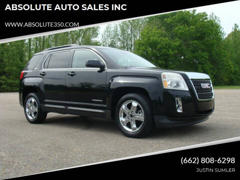 2013 GMC Terrain for sale at ABSOLUTE AUTO SALES INC in Corinth MS