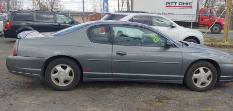2004 Chevrolet Monte Carlo for sale at Superior Motors in Mount Morris MI