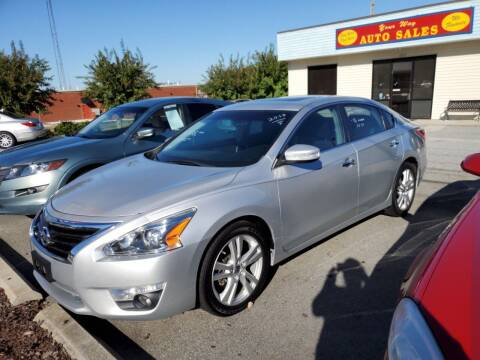 2013 Nissan Altima for sale at YOUR WAY AUTO SALES INC in Greensboro NC