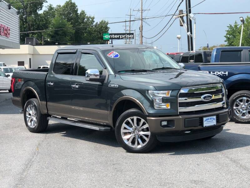 2015 Ford F-150 for sale at Jarboe Motors in Westminster MD