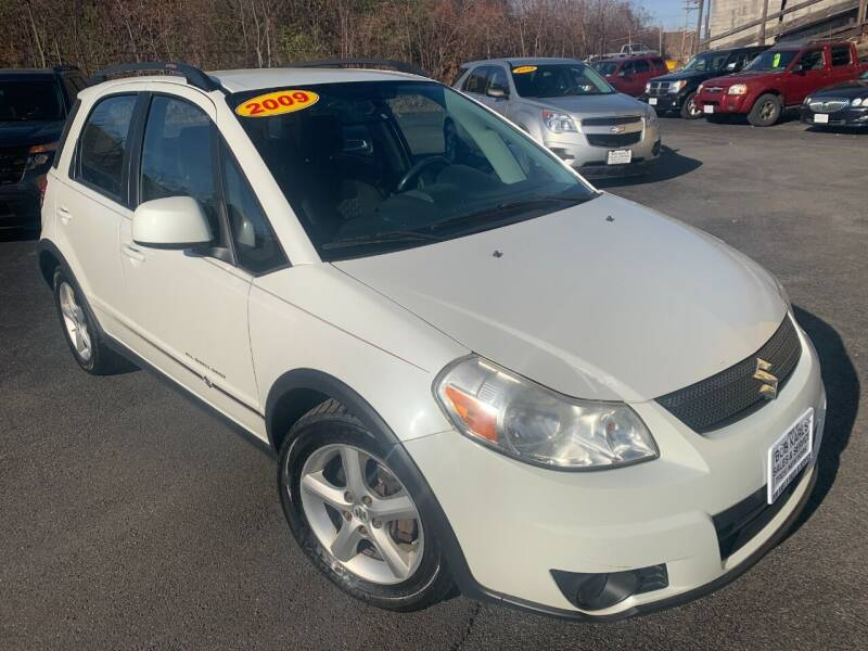 2009 Suzuki SX4 Crossover for sale at Bob Karl's Sales & Service in Troy NY