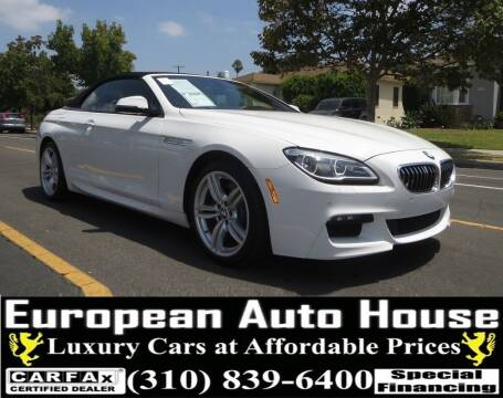 2017 BMW 6 Series for sale at European Auto House in Los Angeles CA