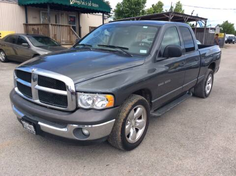 2003 Dodge Ram Pickup 1500 for sale at OASIS PARK & SELL in Spring TX