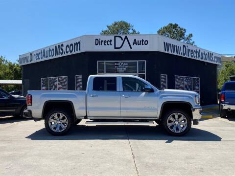 2016 GMC Sierra 1500 for sale at Direct Auto in D'Iberville MS