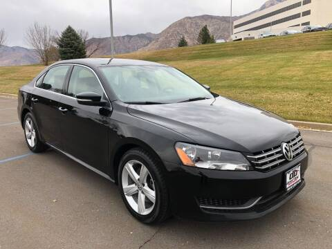 2013 Volkswagen Passat for sale at DRIVE N BUY AUTO SALES in Ogden UT