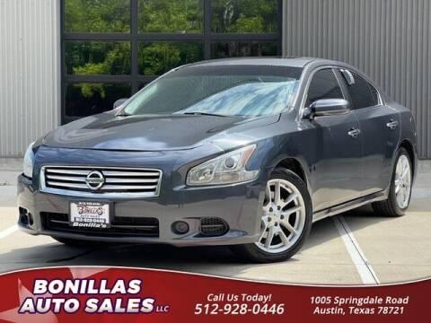 2012 Nissan Maxima for sale at Bonillas Auto Sales in Austin TX