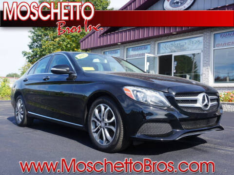 2015 Mercedes-Benz C-Class for sale at Moschetto Bros. Inc in Methuen MA