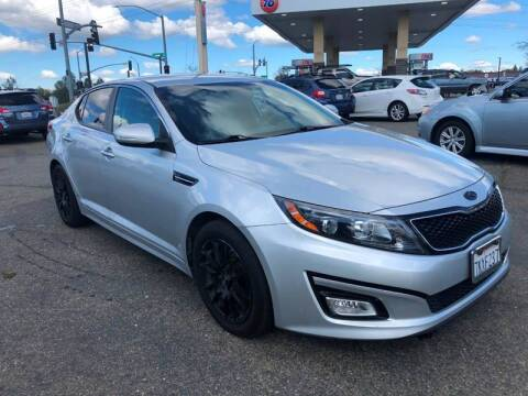 2015 Kia Optima for sale at Deruelle's Auto Sales in Shingle Springs CA