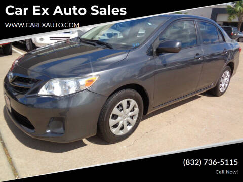 2011 Toyota Corolla for sale at Car Ex Auto Sales in Houston TX