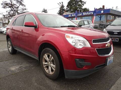 2012 Chevrolet Equinox for sale at All American Motors in Tacoma WA