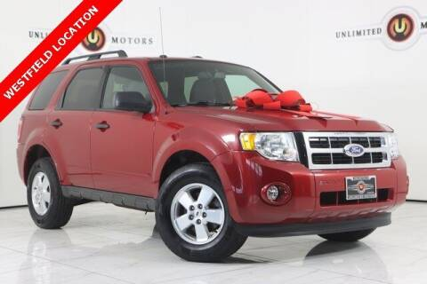 2011 Ford Escape for sale at INDY'S UNLIMITED MOTORS - UNLIMITED MOTORS in Westfield IN