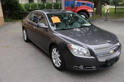 2012 Chevrolet Malibu for sale at FENTON AUTO SALES in Westfield MA