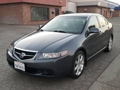 2005 Acura TSX for sale at California Auto Deals in Sacramento CA