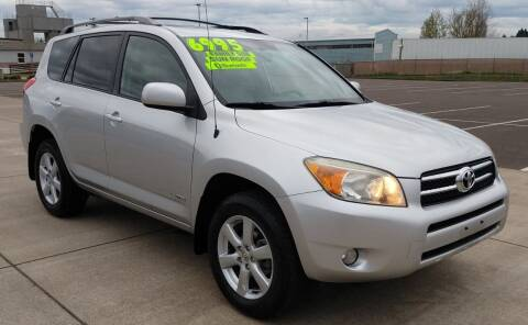 2007 Toyota RAV4 for sale at SWIFT AUTO SALES INC in Salem OR