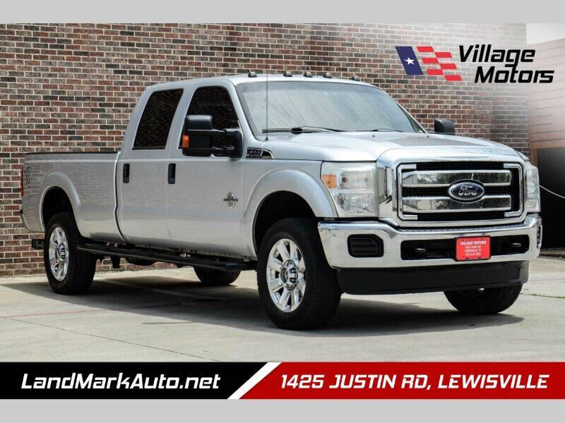 2012 Ford F-350 Super Duty for sale at Village Motors in Lewisville TX