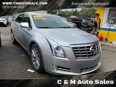 2014 Cadillac XTS for sale at C & M Auto Sales in Detroit MI
