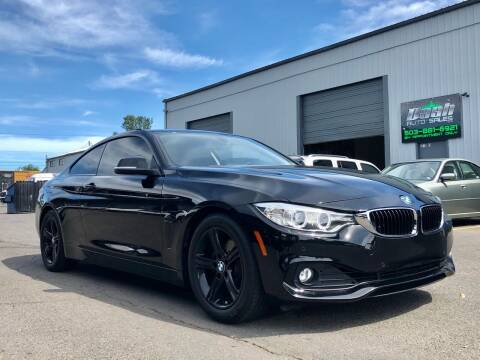 2015 BMW 4 Series for sale at DASH AUTO SALES LLC in Salem OR