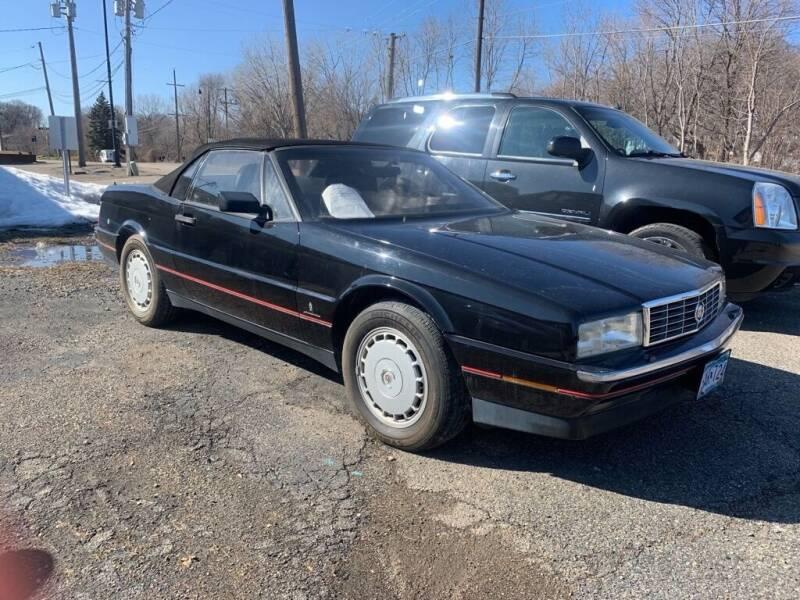 1992 Cadillac Allante for sale at Tonka Auto & Truck in Mound MN