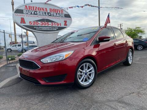 2015 Ford Focus for sale at Arizona Drive LLC in Tucson AZ