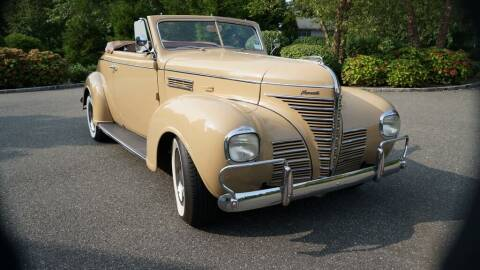 1939 Plymouth P8 Deluxe Convertible Coupe for sale at Fiore Motors, Inc.  dba Fiore Motor Classics in Old Bethpage NY