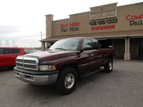 2002 Dodge Ram Pickup 2500 for sale at Import Motors in Bethany OK
