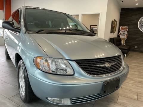 2003 Chrysler Town and Country for sale at Evolution Autos in Whiteland IN