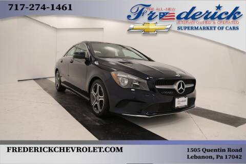 2018 Mercedes-Benz CLA for sale at Lancaster Pre-Owned in Lancaster PA