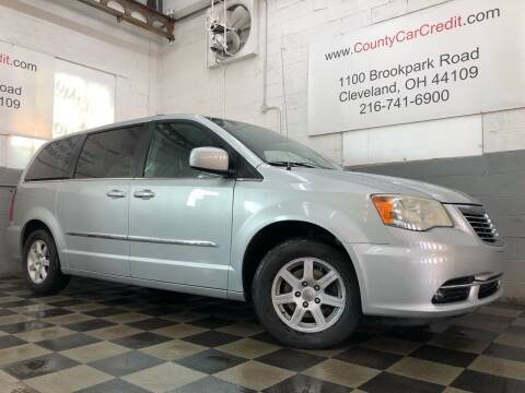 2011 Chrysler Town and Country for sale at County Car Credit in Cleveland OH