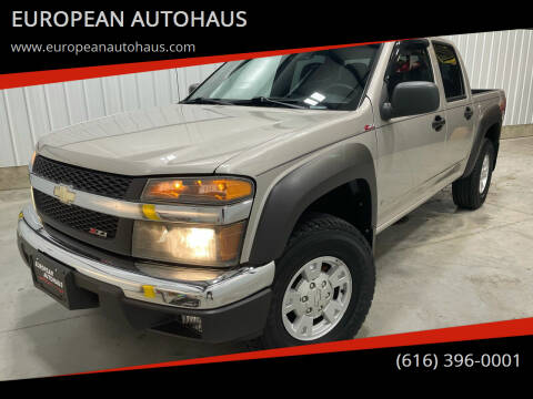 2006 Chevrolet Colorado for sale at EUROPEAN AUTOHAUS in Holland MI