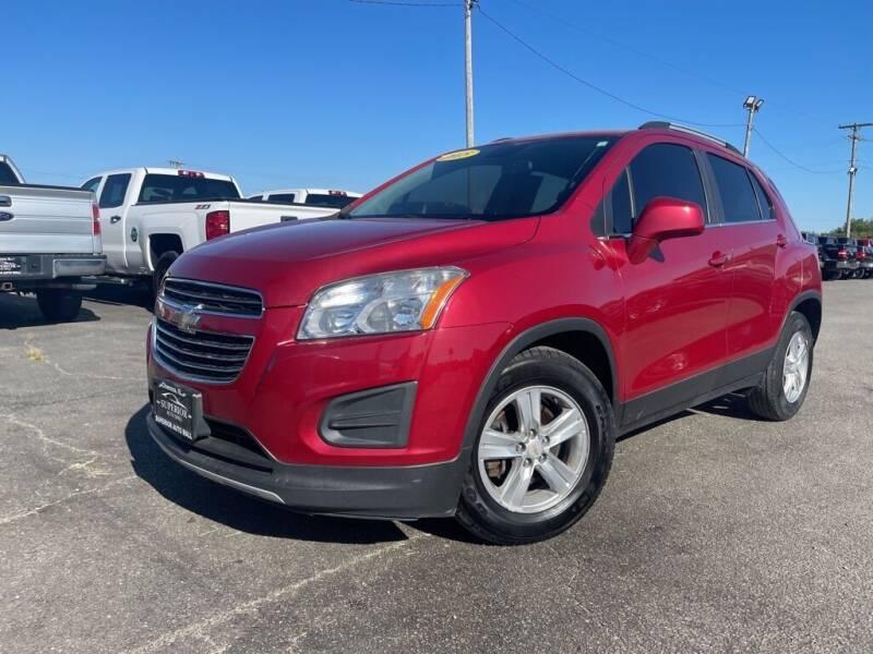 2015 Chevrolet Trax for sale at Superior Auto Mall of Chenoa in Chenoa IL