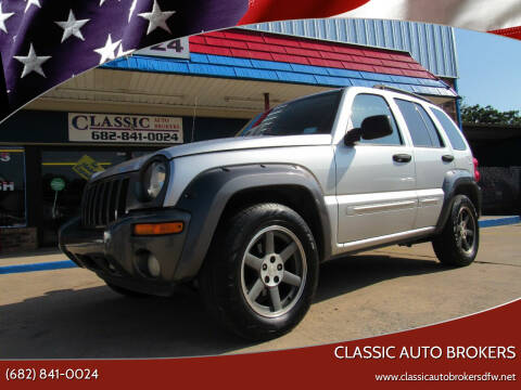 2003 Jeep Liberty for sale at Classic Auto Brokers in Haltom City TX