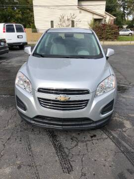 2016 Chevrolet Trax for sale at Car Now LLC in Madison Heights MI