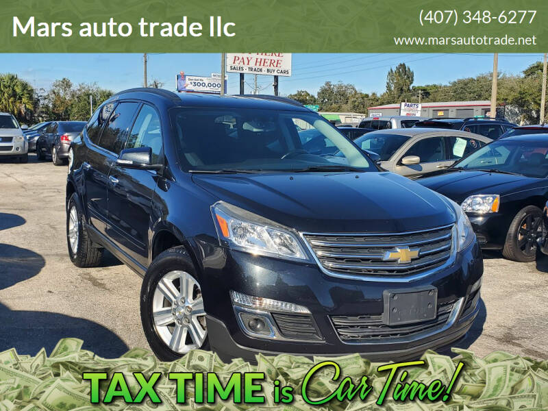 2014 Chevrolet Traverse for sale at Mars auto trade llc in Kissimmee FL