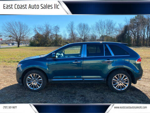 2011 Lincoln MKX for sale at East Coast Auto Sales llc in Virginia Beach VA