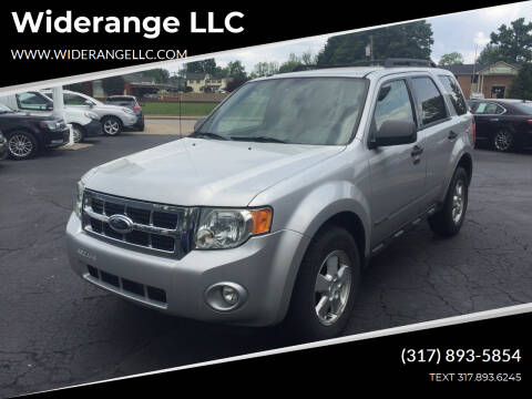 2008 Ford Escape for sale at Widerange LLC in Greenwood IN