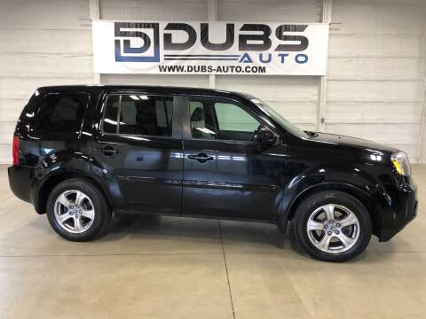 2015 Honda Pilot for sale at DUBS AUTO LLC in Clearfield UT