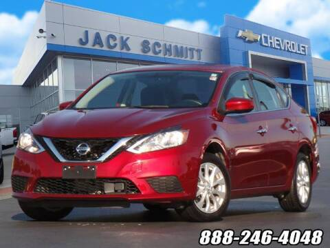 2018 Nissan Sentra for sale at Jack Schmitt Chevrolet Wood River in Wood River IL