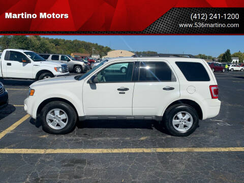 2012 Ford Escape for sale at Martino Motors in Pittsburgh PA