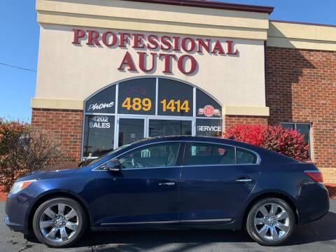 2011 Buick LaCrosse for sale at Professional Auto Sales & Service in Fort Wayne IN