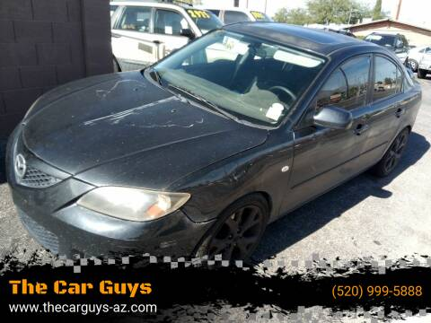 2008 Mazda MAZDA3 for sale at The Car Guys in Tucson AZ