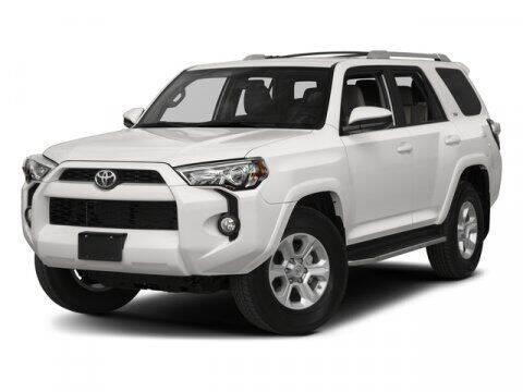 2017 Toyota 4Runner for sale at Scott Evans Nissan in Carrollton GA