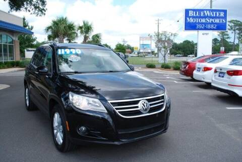 2011 Volkswagen Tiguan for sale at BlueWater MotorSports in Wilmington NC