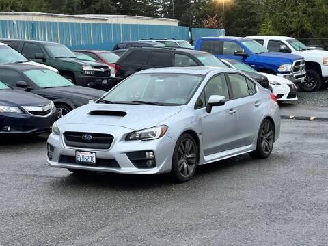 2017 Subaru WRX for sale at LKL Motors in Puyallup WA