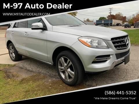2015 Mercedes-Benz M-Class for sale at M-97 Auto Dealer in Roseville MI