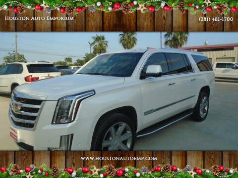 2017 Cadillac Escalade ESV for sale at Houston Auto Emporium in Houston TX