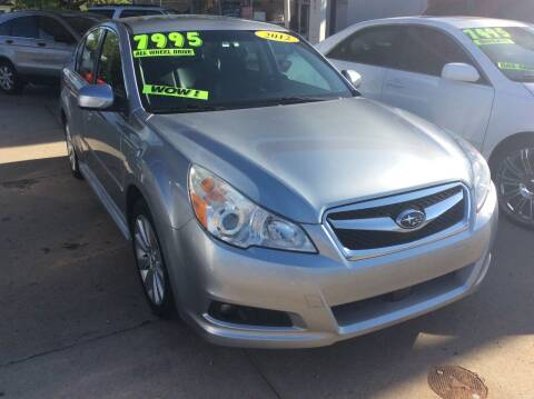 2012 Subaru Legacy for sale at Harrison Family Motors in Topeka KS