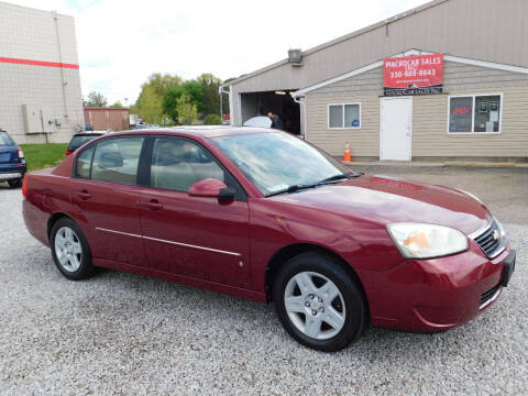 2006 Chevrolet Malibu for sale at Macrocar Sales Inc in Akron OH