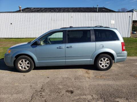 2008 Chrysler Town and Country for sale at Steve Winnie Auto Sales in Edmore MI