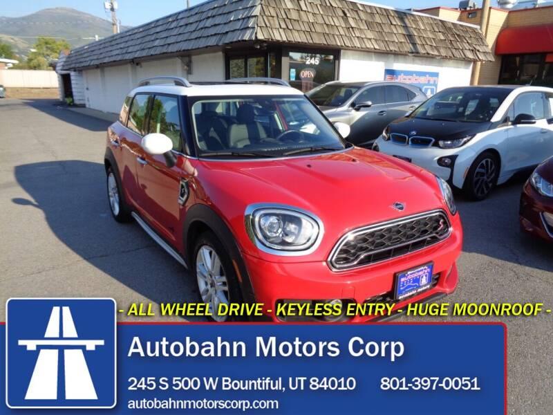 2020 MINI Countryman for sale at Autobahn Motors Corp in Bountiful UT